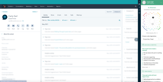 Crystal Introduces the Hubspot Integration - CE